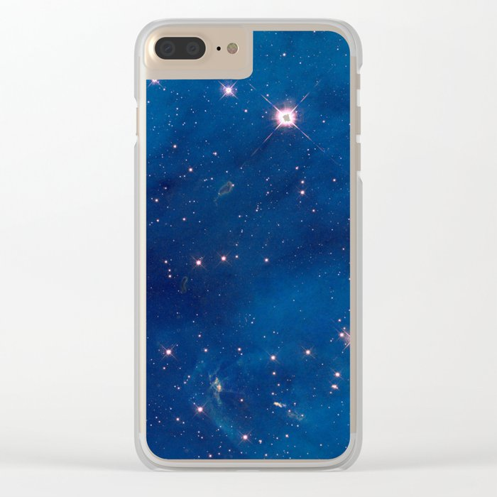 Space 07 Clear iPhone Case