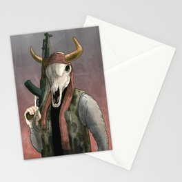 Undead Cow rebal Stationery Cards