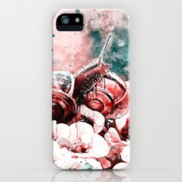 two snails make love ws2s iPhone Case