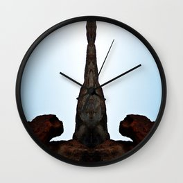 Cone Head  Wall Clock