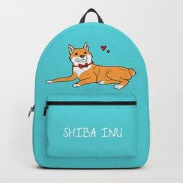 Shiba Inu Love Backpack