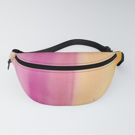 6     190728   Romance Watercolour Painting Fanny Pack