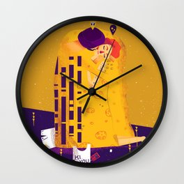 Der Kuss, actual love. Wall Clock