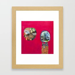 Talking To Ghosts Framed Art Print