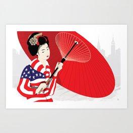 Tokyo Rising Art Print