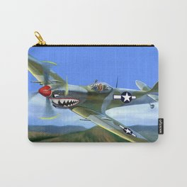 Spitfire Soars Over Hawaii Carry-All Pouch