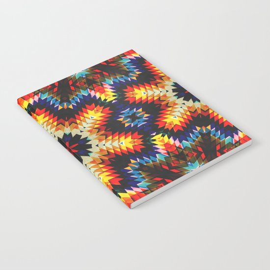 Colorful Geometric Abstract Notebook