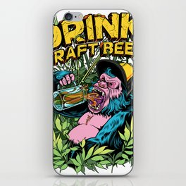 Drink Craft Beer iPhone Skin