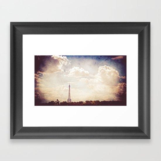 Paris in June Framed Art Print