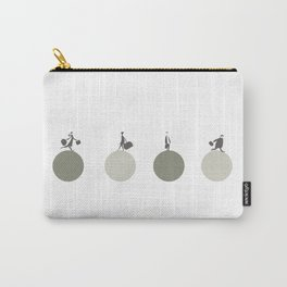 Busy days-green Carry-All Pouch