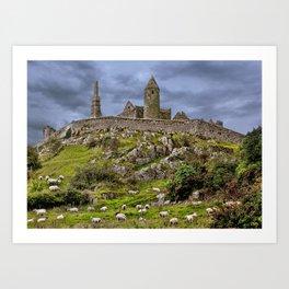 Irish Icon Art Print