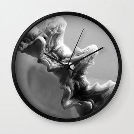 B&W Shell Edge Wall Clock