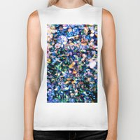 sparkle Biker Tanks featuring Sparkle by Stephen Linhart