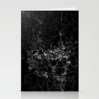 seoul Stationery Cards featuring Seoul by Line Line Lines