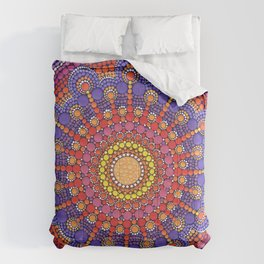 Jewel Drop Mandala Comforters