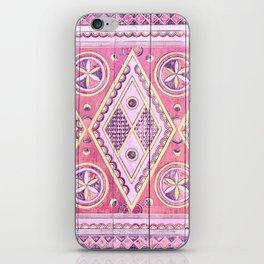 Pink Najd Door iPhone Skin