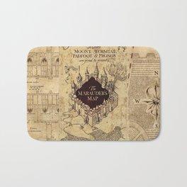 Marauder's Map Bath Mat