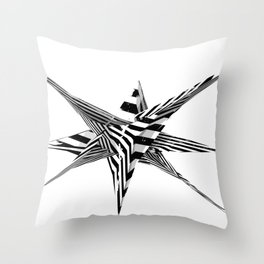 'Untitled #03' Throw Pillow