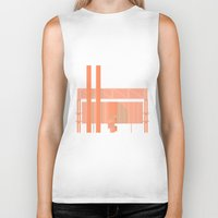cigarette Biker Tanks featuring Cigarette Factory by Peter Cassidy