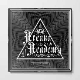 Arcana Academy - Nunquam Dormio Metal Print
