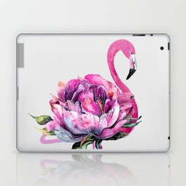 Flower Flamingo Laptop & iPad Skin