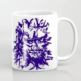 face11 blue Coffee Mug