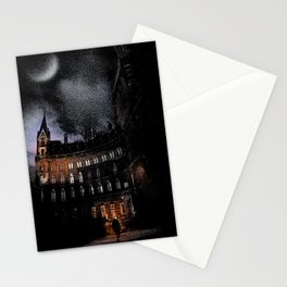 Spooky Victorian London Architecture Stationery Cards