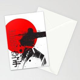 Karate Japan Stationery Cards