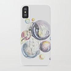 Bubbles Slim Case iPhone X