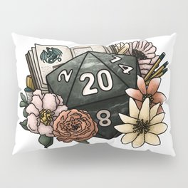 Dungeon Master D20 Tabletop RPG Gaming Dice Pillow Sham