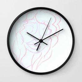 pastel belle Wall Clock