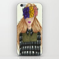 fawn iPhone & iPod Skins featuring Fawn by Ally Marie