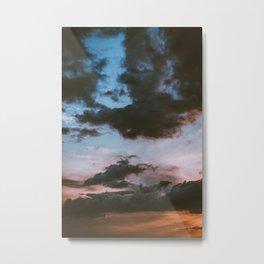 Dusk Sunset (Color) Metal Print
