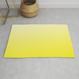 Simply sun yellow color gradient- Mix and Match with Simplicity of Life Rug