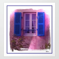 french Art Prints featuring French by elkart51