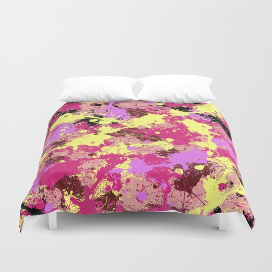 Abstract 21 Duvet Cover