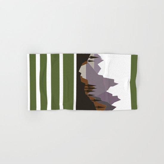 Rough Mountains Hand & Bath Towel