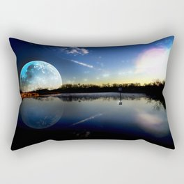 Distant Peace Rectangular Pillow