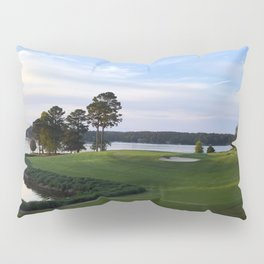 Sun on the Green Pillow Sham
