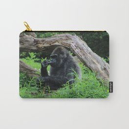 Gorilla Contemplating Carry-All Pouch