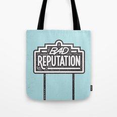 Bad Reputation Tote Bag