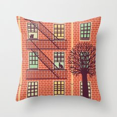 the fly (day) Throw Pillow