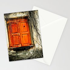 Window to my heart Stationery Cards