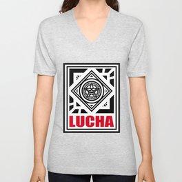LUCHA LOGO9 Unisex V-Neck