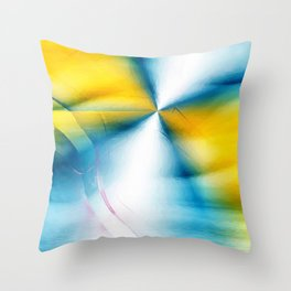 Silver Lining Throw Pillow