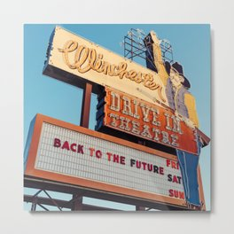 Winchester Drive In Metal Print
