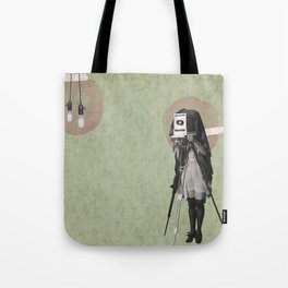 Feminine Collage II Tote Bag