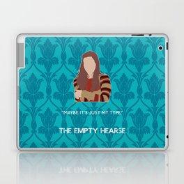 The Empty Hearse - Molly Hooper Laptop & iPad Skin