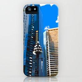 Downtown Philladelphia. JFK Plaza iPhone Case