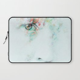 Silent Blue Laptop Sleeve